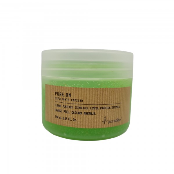 Pure.On. Exfoliante Capilar. Greensoho. 250 ml.